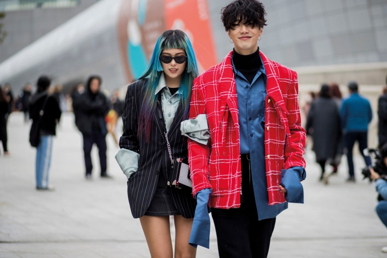 Street Style - Hera Seoul Fashion Week 2018 F/W
